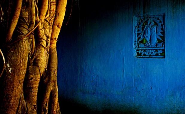 Krishna wall, Murshidabad. Images: Zeeshan Khan