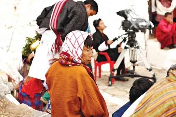 Filming religious festivals: a more stable line of work than independent filmmaking. Flickr / abrinsky.