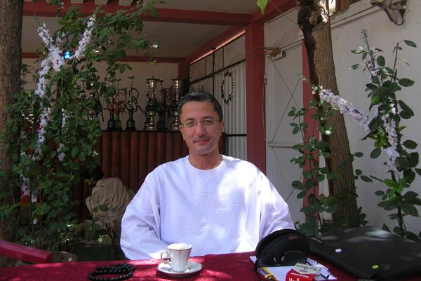 Kamal Hamade, owner of Taverna du Liban restaurant. All photos: Aunohita Mojumdar