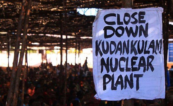 Activists have mobilised mass demonstrations against the Koodankulam Nuclear Power Plant.  flickr / Febin Prakash
