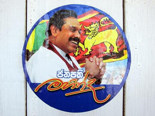 Rajapaksa has fallen back on strident nationalism. Image: flickr user indi.ca, CC license