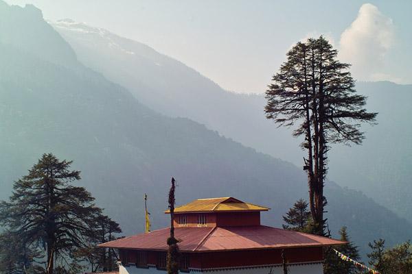 A view of Dzongu, Sikkim from Tholung monastery. Photo: Flickr / buddhatripper