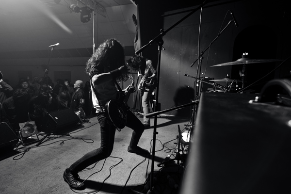 Symbol of Orion playing at Maha Shivaratri rock night, Harrow Football Club, London, April 2013. Image: Mani Rai