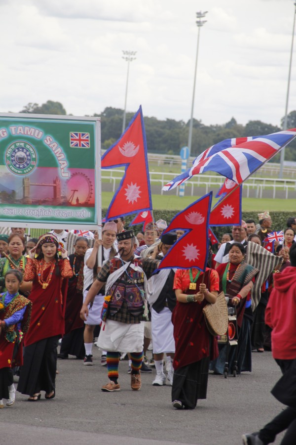 Nepali Mela UK 2014, Kempton Park Racecourse. (Image: Premila van Ommen)
