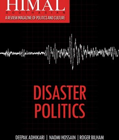 Disaster Politics: Note from the Editors
