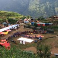 An art experiment in Gorkha