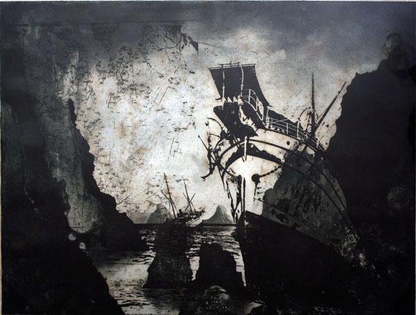 'After the storm' (1988) by Bartolomeu dos Santos. Photo: V M Gallery