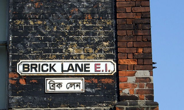Brick Lane in London. Photo: Wikimedia Commons / FlickreviewR