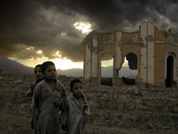 Children of Kabul Photo : Flickr / Mark Knobil