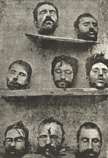 Eight Armenian professors massacred during the Armenian Genocide of 1915 Photo : Wikimedia Commons