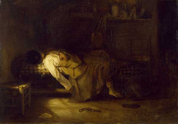 'The Suicide' (circa 1836) by Alexandre-Gabriel Decampz Photo: Walters Art Museum