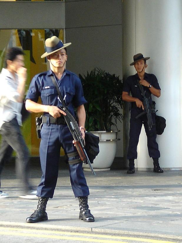 Gurkha Contingent troopers Source : Wikimedia Commons