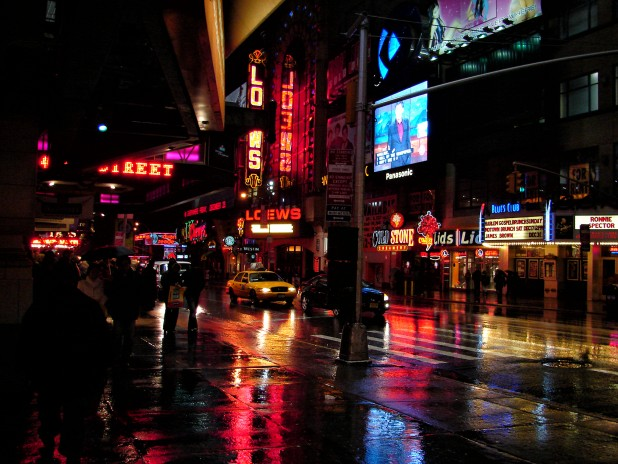 Monsoon in Manhattan. Photo Credit: Flickr/ Diego Torres Silvestre