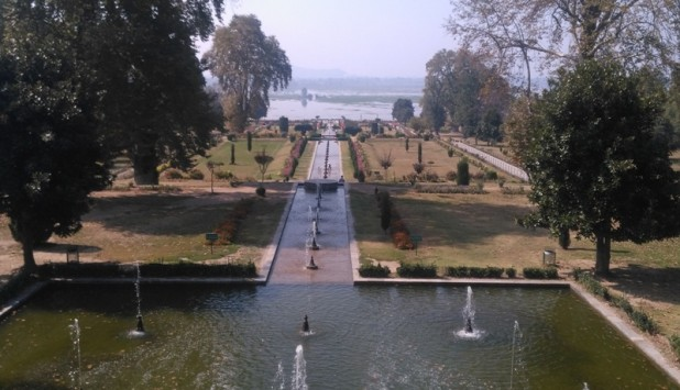 Nishat Garden in Srinagar (Photo: Indra Dhoj Kshetri)