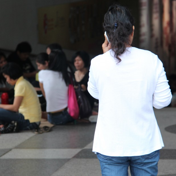 Calling Home: Migrant Workers in Hong Kong Source: KC Wong/Flickr