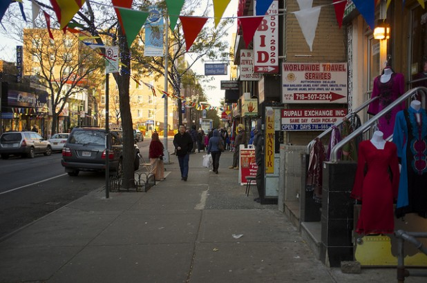 Jackson Heights, an area within the borough of Queens in New York, has become a hub for Tibetans in the US. Photo: Flickr / Aleksandr Zykov