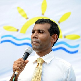 President Nasheed speaks to Himal Southasian
