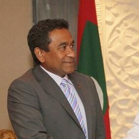 President Abdulla Yameen Abdul Gayoom. Photo: Mahinda Rajapaksa / Flickr