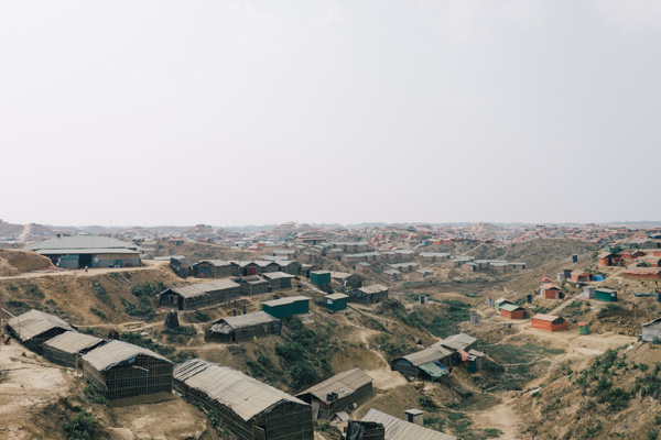 The Kutupalong camp in Bangladesh has swollen to house more than 500,000 refugees since August 2017