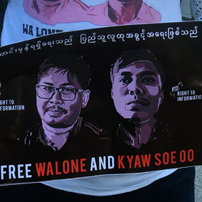Letter from Myanmar: Journalism under attack