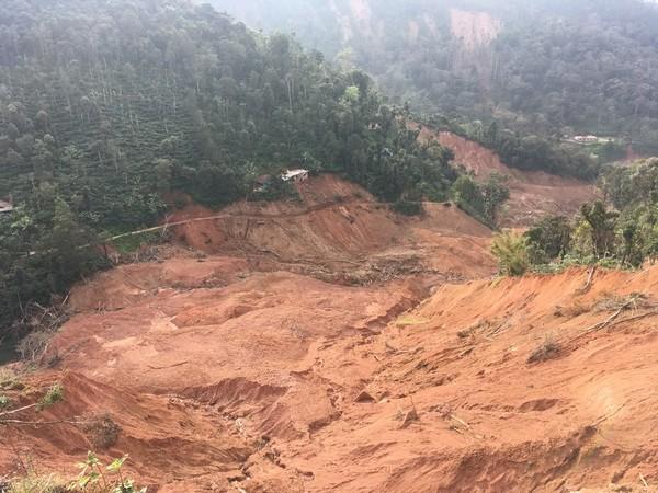Landslides in Udayagiri, Kodagu, Karnataka. / Photo: Deepa Bhasthi