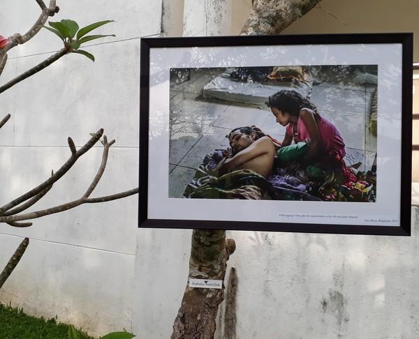 From Shahidul Alam's work on the Rohingya refugees in Cox's Bazar, Bangladesh.